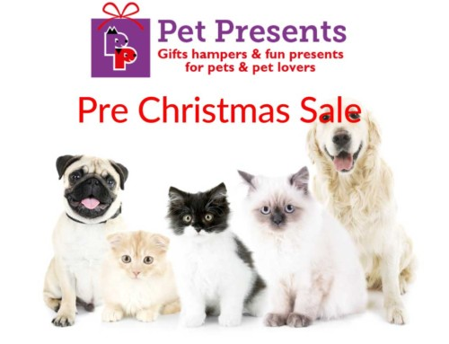 Pet Presents Pre Christmas Sale