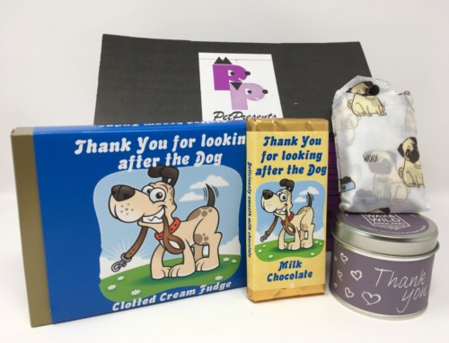 Say Thank you with a gift from Pet Presents